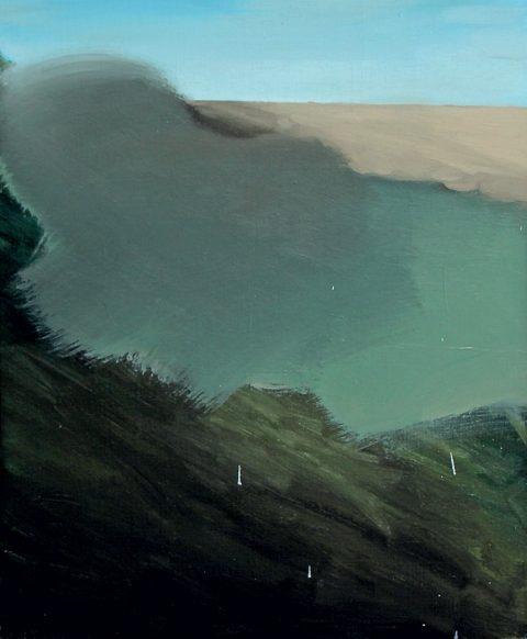 Martin Chaumont, Sans titre, Huile sur toile, édition 2018