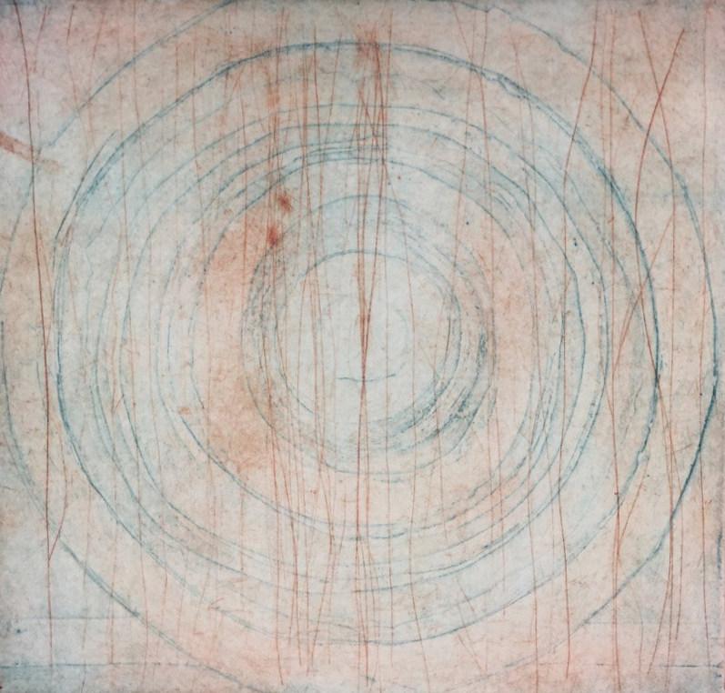 R.SUCCATO - Imprevisto - Impression chalcographique, 2017-2019 - 40x40 cm